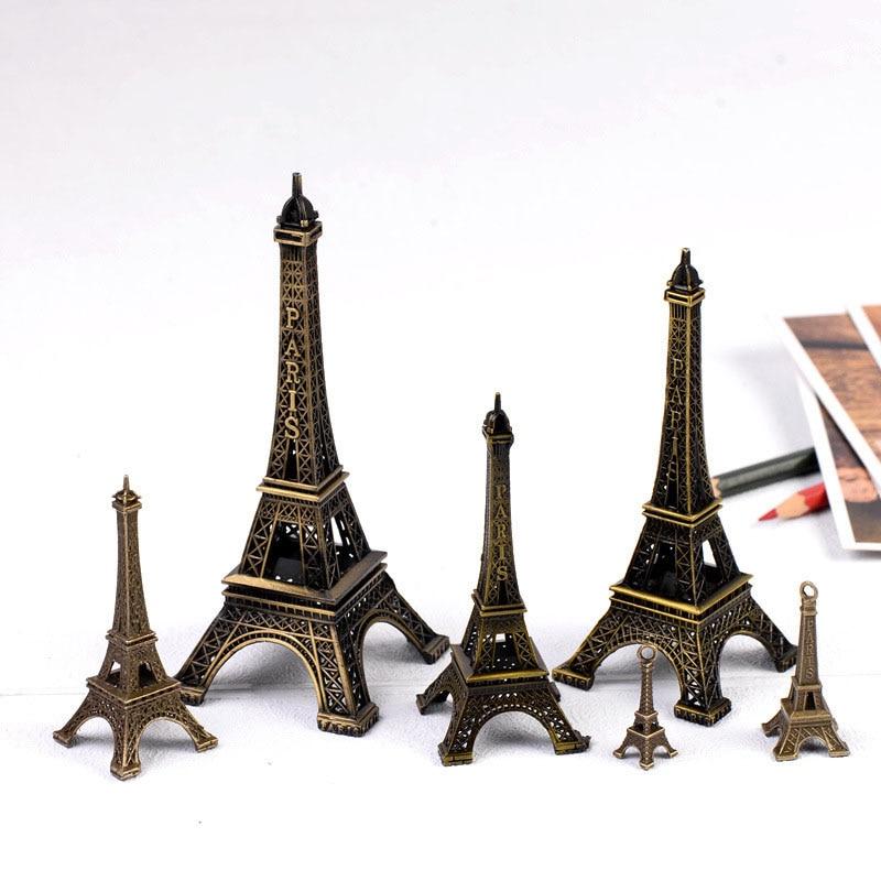 Metal Eiffel Paris Tower Home Decoration Accessories