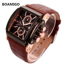 HOT Famous Brand BOAMIGO Watches Quartz-Watch Antique Luxury Watch Men Wristwatches Montre Homme erkek saat Relojes Hombre 2016