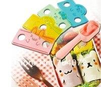 Großhandel-1 satz Dekorative Niedlichen Tier 3D sushi form Reis Form Form Und Briefmarken