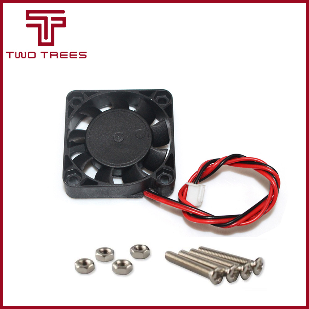 Image 3 - 80pcs.DC 5V 12V 24V Computer CPU Cooler Mini Cooling Fan 40MM 40x40x10mm Small Exhaust Fan for 3D Printer 4010 2 pin 40*40*10mm-in 3D Printer Parts & Accessories from Computer & Office