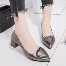 Best Sellers Womens Shoes Pumps 2018 Spring Autumn Casual Fashion Woman Pointed Party Metal Decoration Sexy Elegant