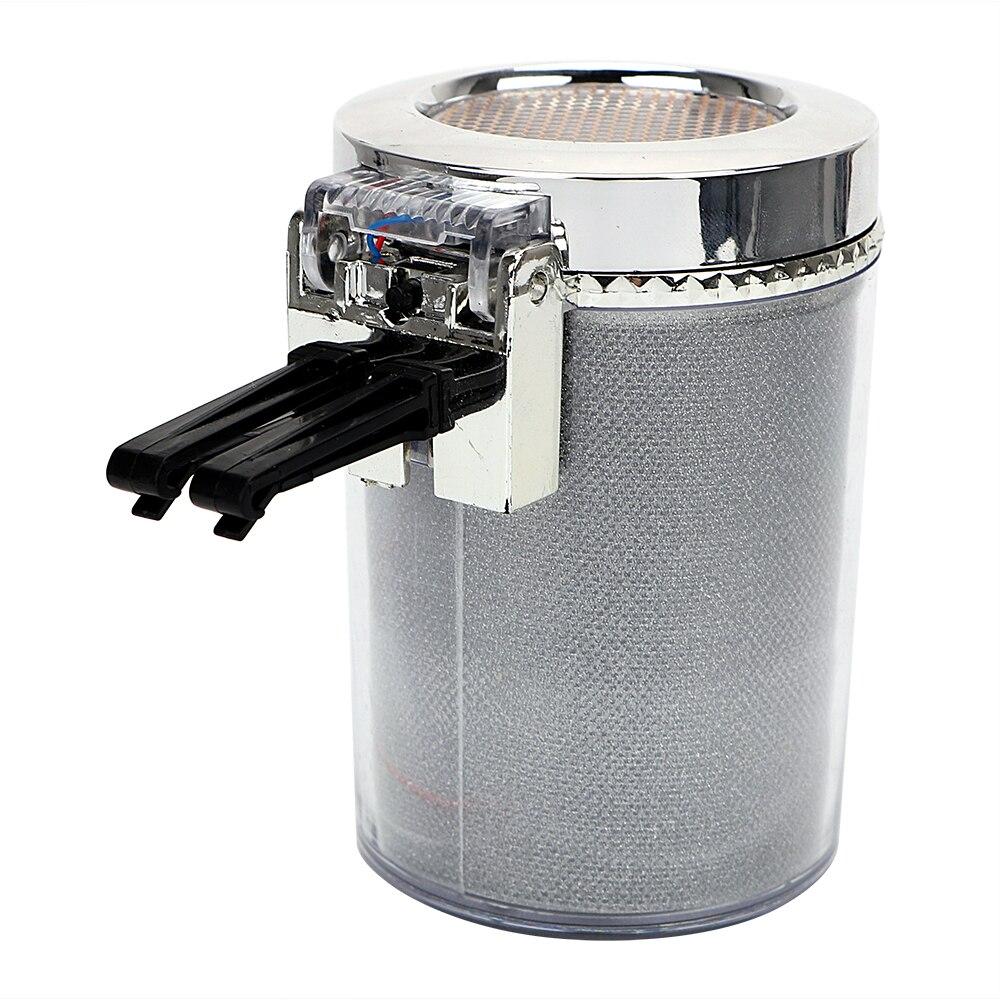 LEEPEE дымовая пепельная чашка для хранения сигарет Пепельница контейнер для мусора автомобильная пепельница со светодиодной подсветкой пор...