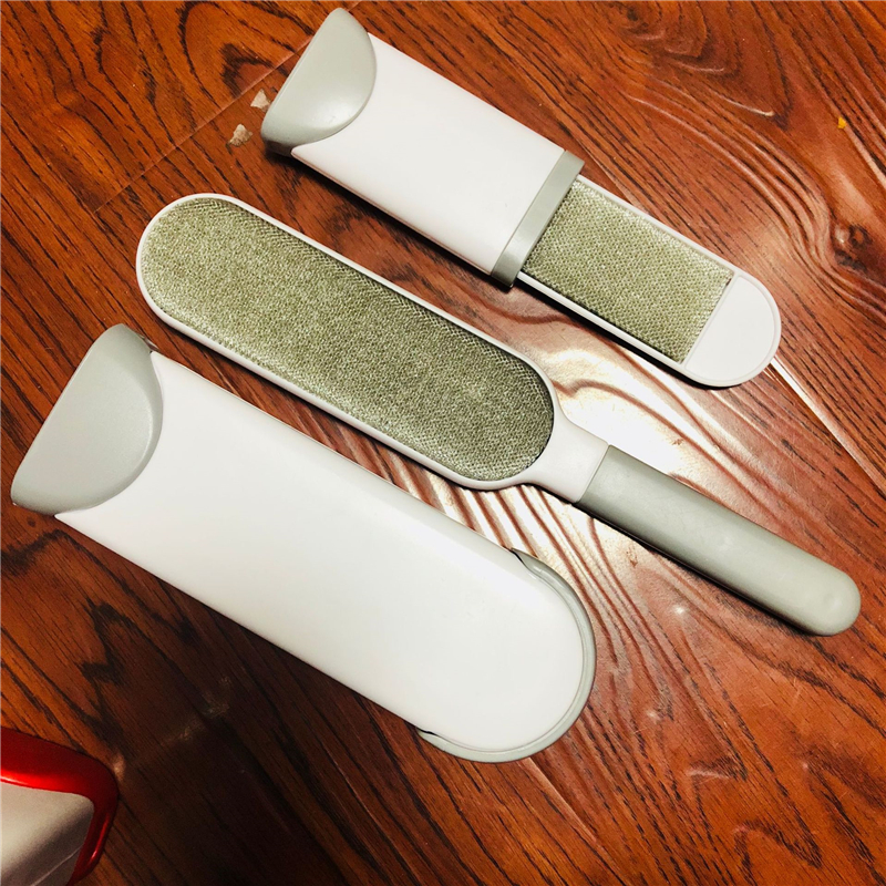 Image 5 - 2pcs/set Multi functional Pet Cat Dog Hair Brush Reusable Self Cleaning Sofa Clothes Animal Fur Remover Brush Scrub Clean Tools-in Dog Combs from Home & Garden