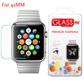 2.5D Edge 9H Hardness  tempered glass screen protectors film For 42mm Apple Watch sport edition Explosion-Proof Function