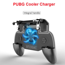 FOR PUBG Gamepad Telescopic Controller Mobile Gaming Trigger With Cooling Fan 500/4000mAh