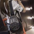 New Women Bag Backpacks Female Teenagers Girls PU Leather Shoulder Bags Chest Pack Students Small Lady Schoolbags Fashion Casual