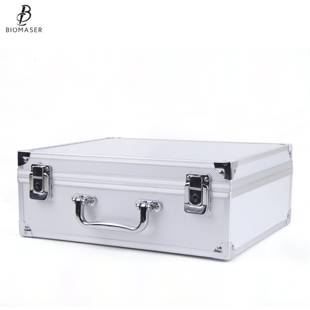 Biomaser Permanent Makeup Tattoo Machine Box Top Quality Gift Case Fit For CTD003 Machine Free Shipping