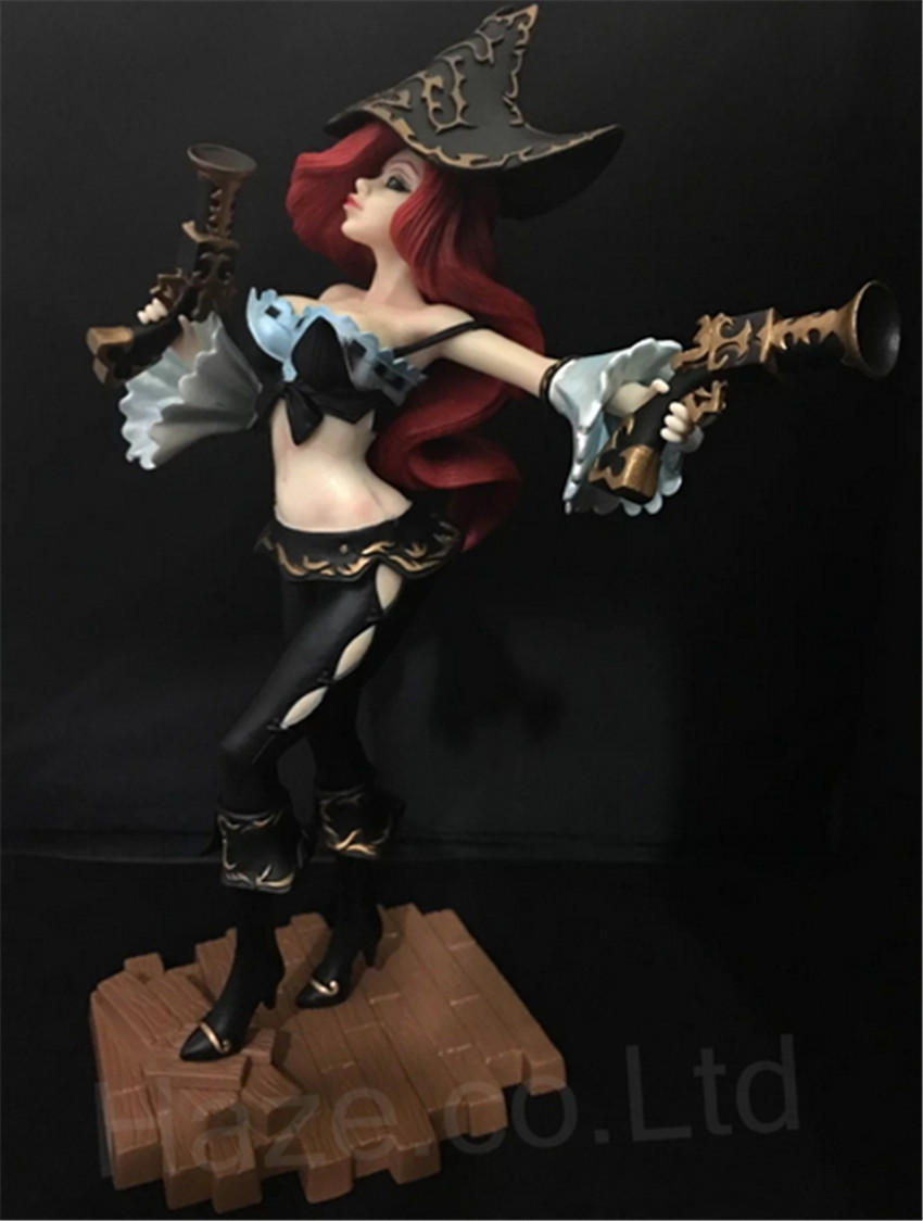LoL the Bounty Hunter Miss Fortune Character Figure Collection Toys with Box10 star wars the bounty hunter code