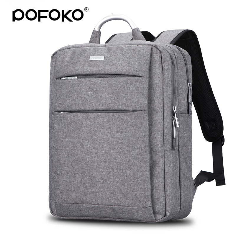 POFOKO Brand laptop bag watweproof backpack for macbook pro 13 case retina laptop sleeve 13.3 15.4 inch notebook case bag