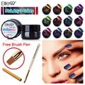 Elite99 Any3pcs 3D Camaleón Que Cambia de Color de Esmalte de Uñas de Gel UV Laca de Uñas 5 ml Camaleón Gel Con Un Cepillo de Pintura Pluma
