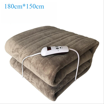 220V Waterproof Electric Blanket Double Electric Heated Blanket Mat Single-control Dormitory Bedroom Heating Carpet