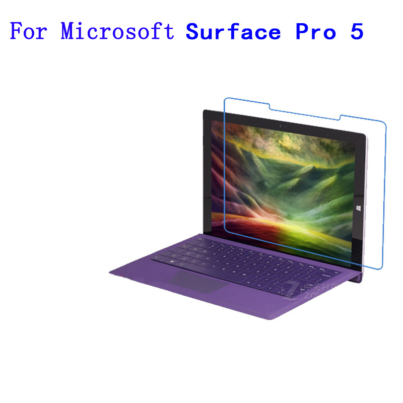 For Microsoft Surface Pro 5 12inch Notebook Tablet PC Hard material nano TPU anti impact and fall screen protection film