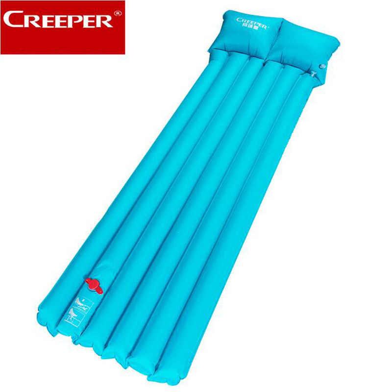 CREEPER חיצוני פיקניק Moistureproof שינה מחצלת קמפינג אוויר מזרן עמיד למים מחצלת כרית כרית מחצלות חוף Foating מרובה משתתפים