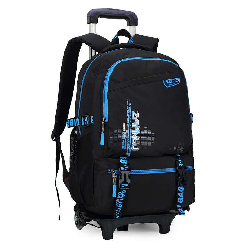 waterproof Trolley backpack boys Girls children School Bag ...