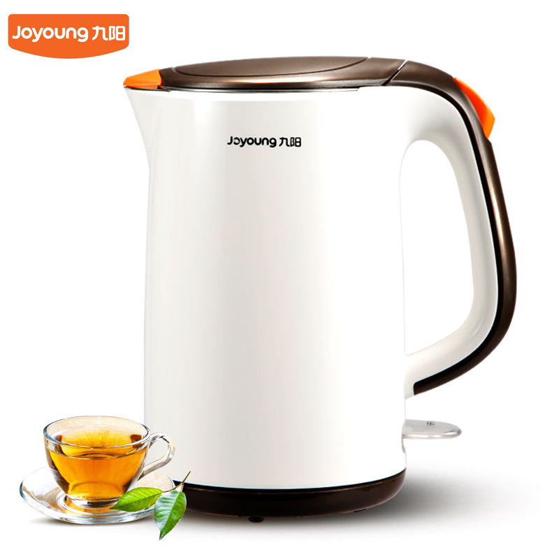 304 stainless steel electric kettle Home Thermal insulation 1.7L water Kettle High Quality Kitchen Appliances high quality electric kettle double wall insulation quick heating digital electric thermos water boiler home appliances for tea
