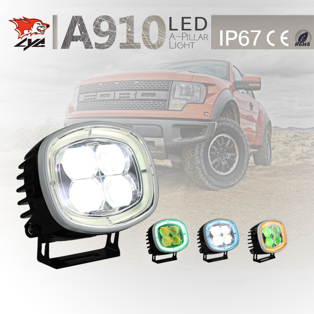 LYC 4wd Led Lights Small Led Offroad Lights Install Daytime Running Lights For Hummer h2 Driving Lights IP67 3000k/6000k 2500LM lyc 6000k led daylight for citroen c4 for nissan led headlights 12v car led lights ip 68 chips offroad work light 40w