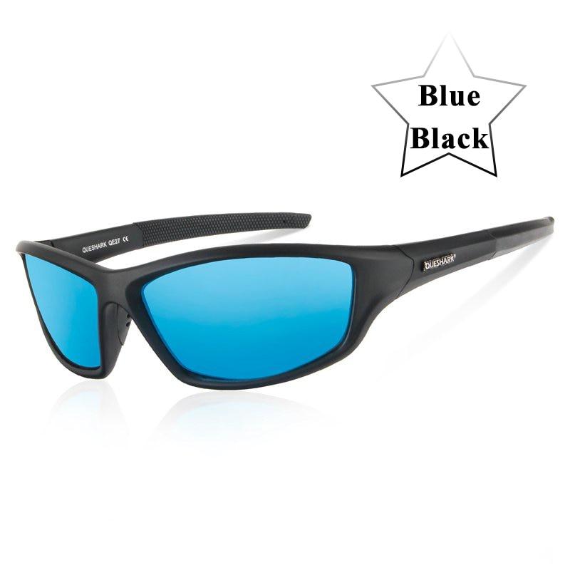 Queshark UV400 Polarized Cycling Glasses Sports Bicycle Sunglasses Bike Glasses Ski Goggles Fishing Cycling Hiking Eyewear 7