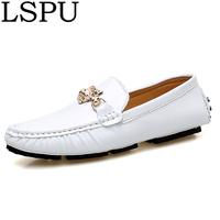 Plus Size 45 46 47 Fashion Men Loafers Slip On Breathable Casual Boat Shoes Super Light Comfortable Driving Shoes Men Moccasins