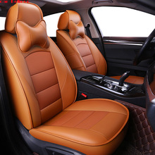 Car Believe car seat covers For vw passat b5 polo 6r 9n golf 4 5 6 Tiguan Sharan Touareg accessories cover for vehicle seat недорого