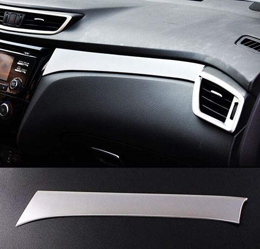 accessories fit for nissan qashqai for 2014 2015 2016 matte center console cover bezel trim. Black Bedroom Furniture Sets. Home Design Ideas
