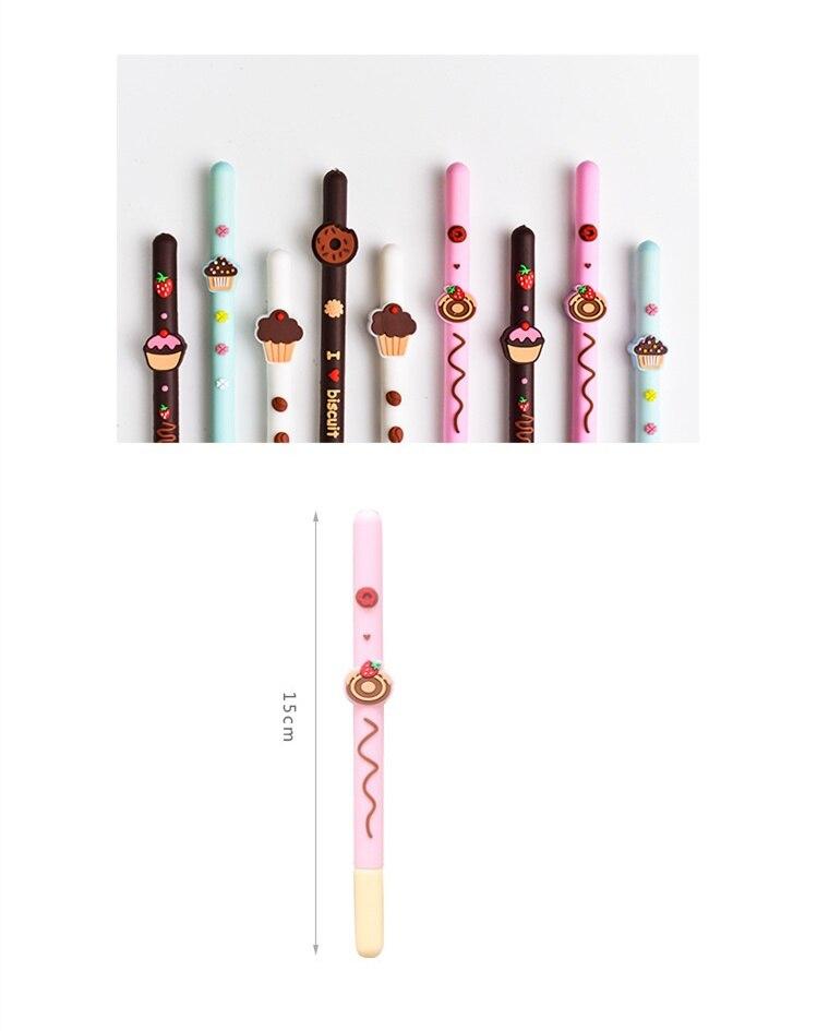 cor Preta gel pens Papelaria material escolar Escritório F710