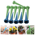 Practical 12x Automatic Watering Irrigation Spike Garden Plant Flower Drip Sprinkler Water Blue Green
