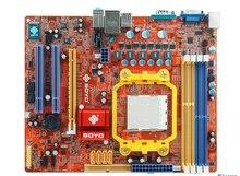 Free shipping 100% original motherboard Soyo SY-N6PM3-RL 940 DDR2 DDR3 Socket AM3 Integrated Desktop motherborad