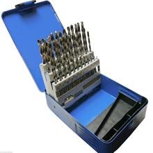 Jeu de forets Hss dingénierie 51 pièces Hss 1   6mm par incréments de 0.1mm
