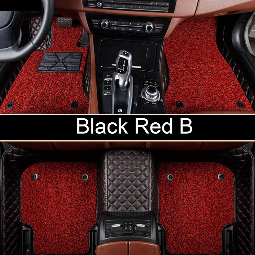 Car floor mats for Kia Sorento Sportage K5 Forte Rio/K2 Cerato K3 Soul Cadenza Carens 5D car styling linerCar floor mats for Kia Sorento Sportage K5 Forte Rio/K2 Cerato K3 Soul Cadenza Carens 5D car styling liner
