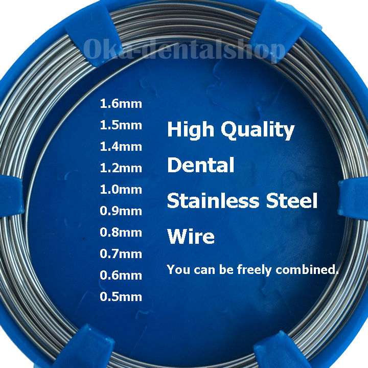 10pcs Dental Stainless Steel Wire 0.5 1.6mm on Aliexpress.com ...