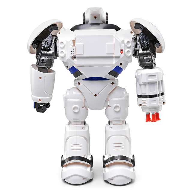 JJRC R1 RC Robot Defenders Infrared Control Robot RTR Programmable Movement Missile Shooting Sliding Walking Dancing Mode Toys