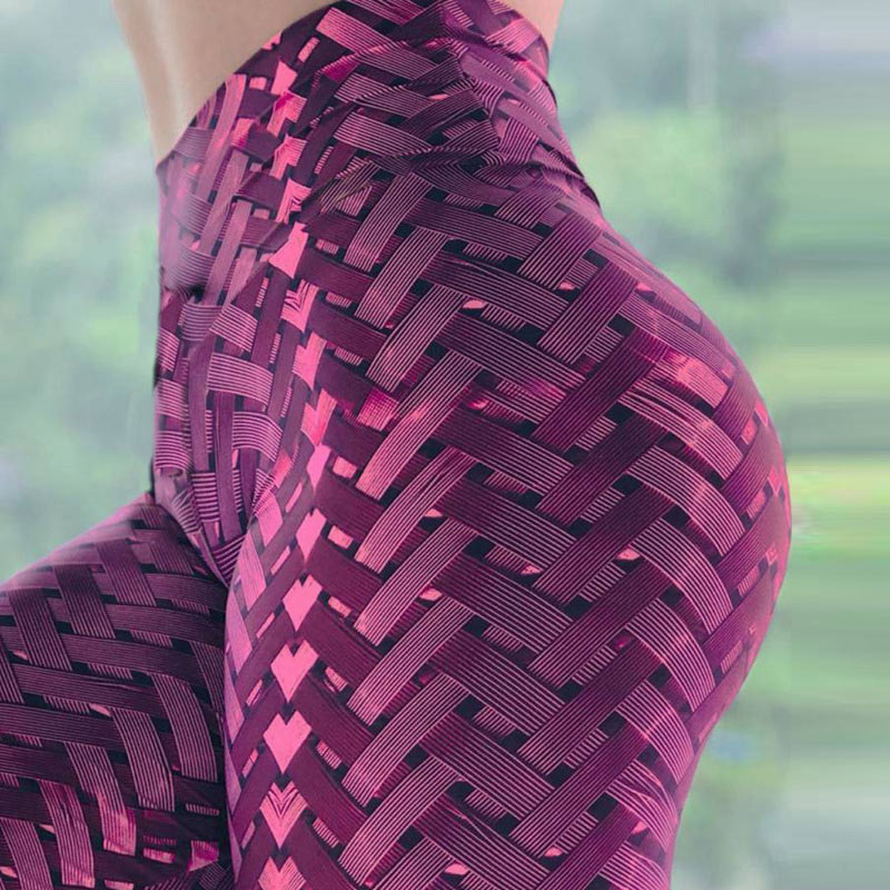 New Women Yoga Leggings High Quality Push Up Elastic Workout Pants