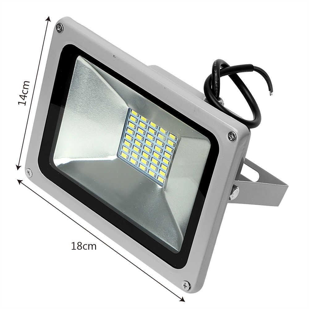 ITimo 10 W DC12-24V IP65 Waterdichte Landschap Lamp Outdoor Verlichting Wit LED Schijnwerpers voor Tuin Vierkante Overstroming Licht