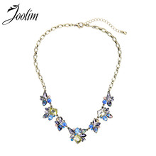 2014 Vintage Flower Pendant Necklace Design charm Free Shipping (Min Order $20 Can Mix)