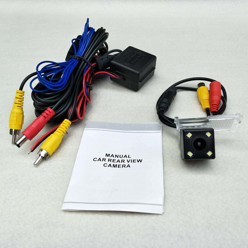 Car Parking Camera For Citroen C-Elysee / DS 3 5 / DS3 DS5 / RCA AUX Wire / HD CCD 4LED Night Vision Rearview Camera