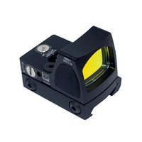 Tactical Red Dot RMR Reflex Optical Sight Mini Collimator Sight With 20mm Mount for Pistol Golck 17 19 Hunting Scope