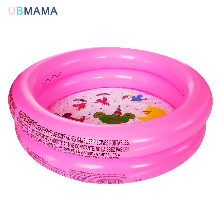 Portable Kids Children Inflatable Swimming Pool Summer Baby Water Play Bath Pool Baby Inflatable Center 2 Layer Plastic Pool
