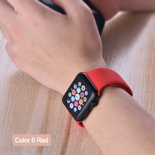 ProBefit soft Silicone Sports Band for Apple Watch 3 2 1 38MM 42MM Bands Rubber Watchband Strap for Iwatch series 4 40mm 44mm(China)