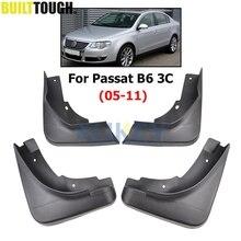 مجموعة واقيات الطين للسيارة VW Passat B6 3C 2005 2011 سيدان واقيات الطين والرذاذ واقيات الطين واقيات الطين 2006 2007 2008 2009 2010