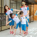 Active Matching Outfits Family Clothing Mother Daughter Clothes Father Son Clothing Family Clothing Sets Style SQ02