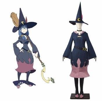 Cosplaydiy pequeña bruja Academia Cosplay traje de dibujos animados ...