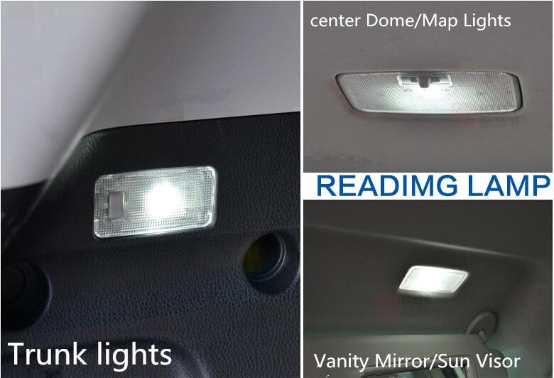 Toyota RAV4 2014 2015 Car Stying 6PCS- ի համար - Ավտոմեքենայի լույսեր - Լուսանկար 6
