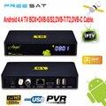 FreeSat V8 Ángel SE SENTÓ A IP Digital Android DVB-T2 DVB-C Cable DVB-S2 Receptor de Satélite vu IPTV Combo CCCAM Newcam AC3 decodificador