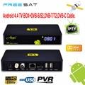 FreeSat V8 Angel SAT To IP Digital Android DVB-T2 DVB-C Cable DVB-S2 Satellite Receiver IPTV Combo AC3 CCCAM Newcam vu decoder