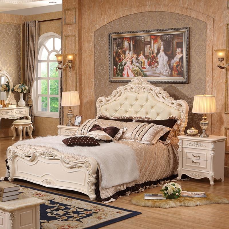 Complete Set Royal White Bedroom