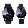 CLAUDIA Pareja del Amante Relojes Mujeres Hombres Rhinestone de Lujo Casual Cuero de LA PU de Cuarzo Analógico Reloj Relojes Relogios Reloj Horas