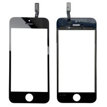 High Quality New front glass lens Touch Screen digitizer replacement for iphone 5S 5 5c balck