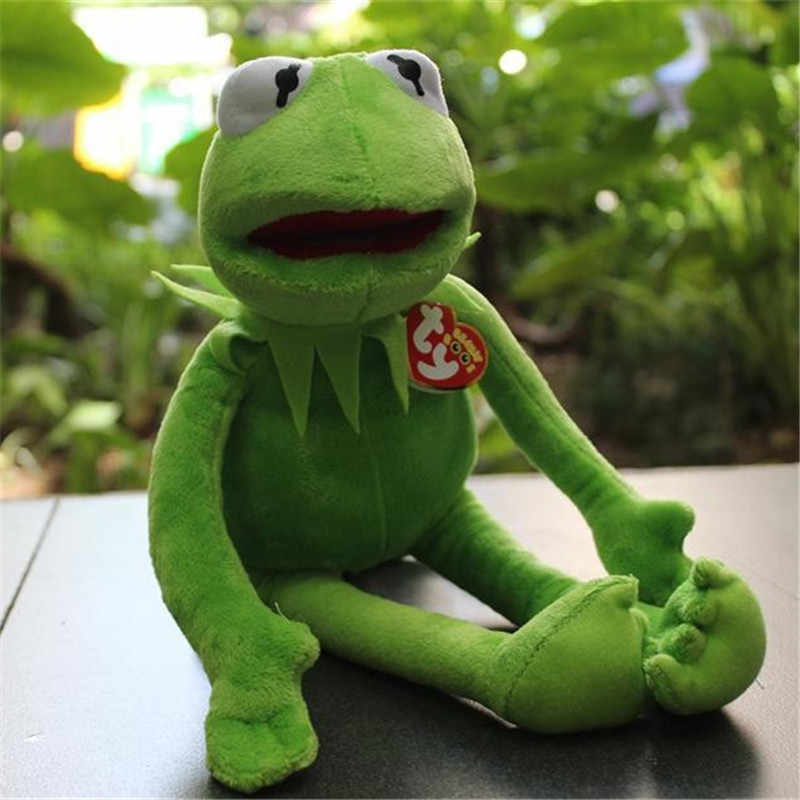 Kermit the Frog The Muppet Show 14'' 40cm Kermit plush toys Sesame Street  doll animal frog plush Stuffed Animal Doll