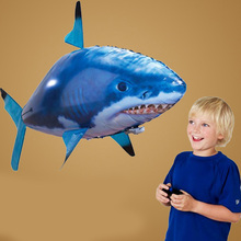 RC Air Swimming Fish Toys font b Drone b font RC Shark Clown Fish Balloons Nemo
