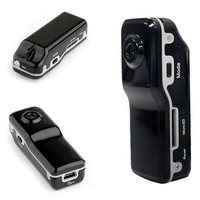 Free Shipping Mini DVR Sports Video Camera MD80 Mini Camera With Retail Box